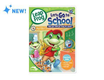 LeapFrog Let's Go to School DVD