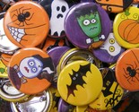 Party On Halloween Buttons