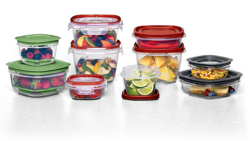 Rubbermaid Easy Find Lid System