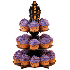 Wilton Haunted Manor Cupcake Stand