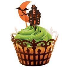 Wilton Haunted Manor Cupcake Wraps n pix