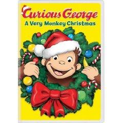 Curious George Christmas DVD