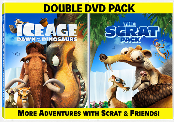 Ice Age Dawn of the Dinosaurs 2 pack