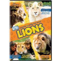 Lions Animal Planet DVD