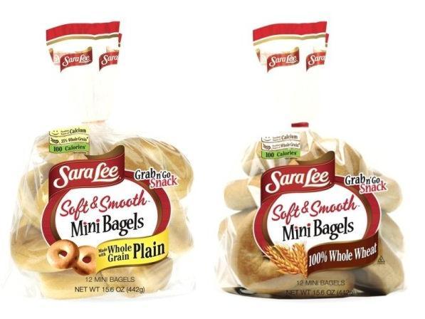 Sara Lee Soft & Smooth Bagels