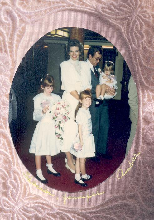 1987 Wedding dec. 1987