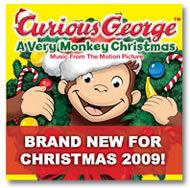 Curious George a very monkey christmas cd