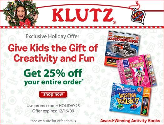 Klutz coupon code