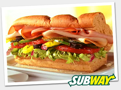 Subway Turkey Breast and Ham
