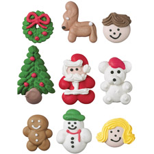 Wilton Gingerbread house decorations