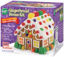 Wilton Gingerbread house