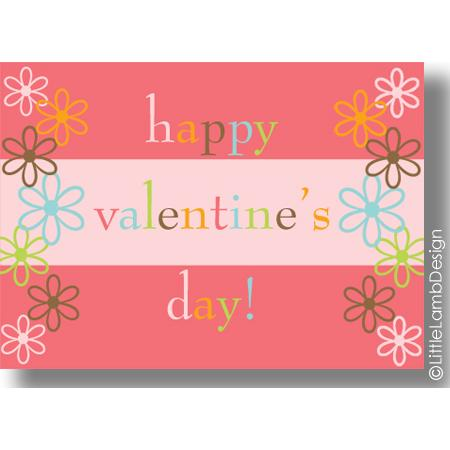 You can also find different children's Valentine's Day cards – perfect for