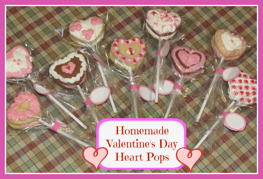 Valentine's Day Wilton Heart Pops