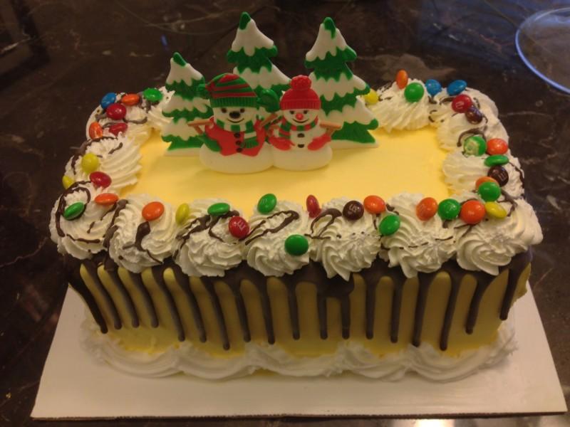 Baskin-Robbins Holiday Cake 2