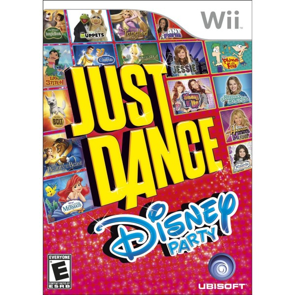 Just Dance Disney Party Wii Game