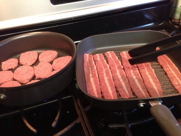 Jennie-O Turkey Bacon and Sausage 4