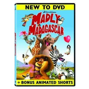 Madly Madagascar DVD