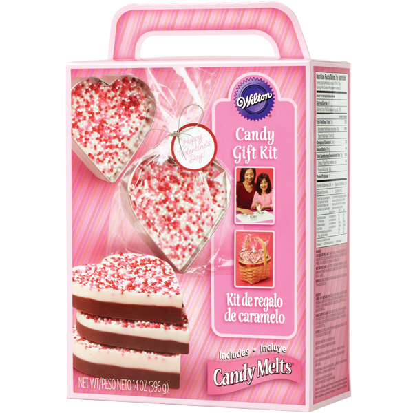 Wilton Heart Candy Bark Kit