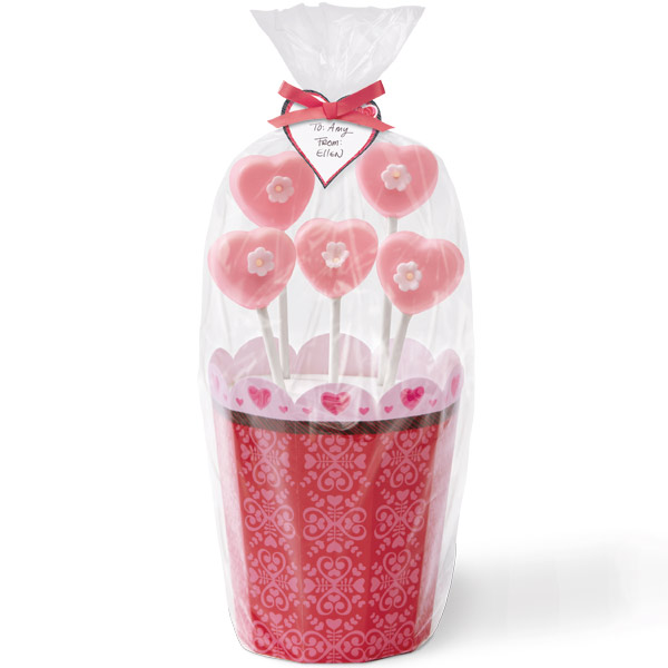 Wilton Romantic Flower Pop Kit