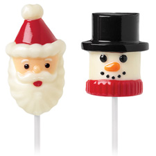 Wilton Snow and Santa Marshmallow Pop Mold