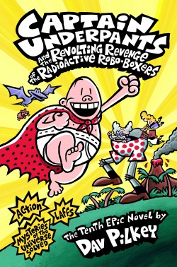 Captain Underpants Book