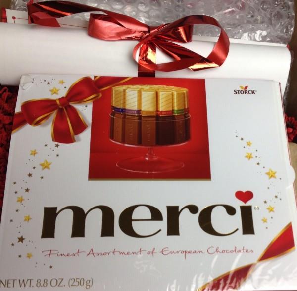 Merci Chocolates Red Carpet