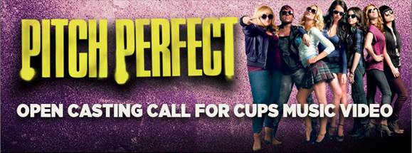 Pitch Perfect Casting Call