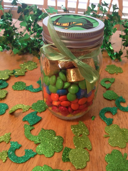 St. Patrick's Day Gifts in a Jar