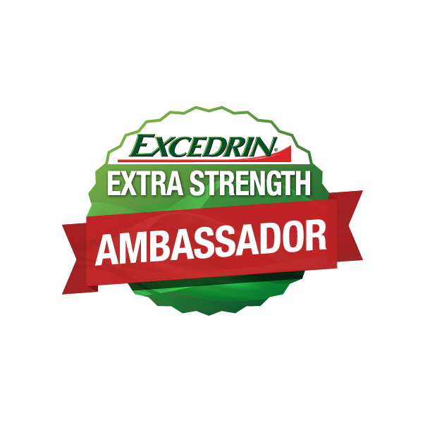 Extra Strength Blogger Ambassador Badge