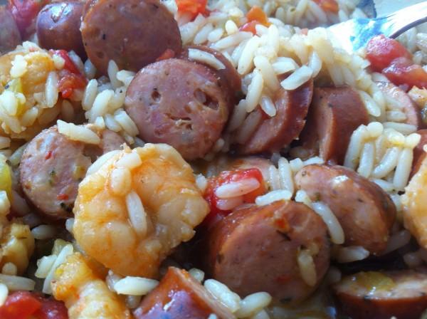 Johnsonville Sausage & Shrimp Jambalaya 2