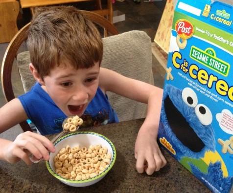 Post Sesame Street Cereal 3