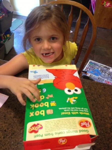Post Sesame Street Cereal 5