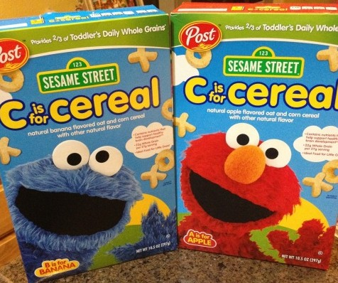 Post Sesame Street Cereal main