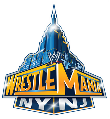 WWE Wrestlemania NY NJ Logo