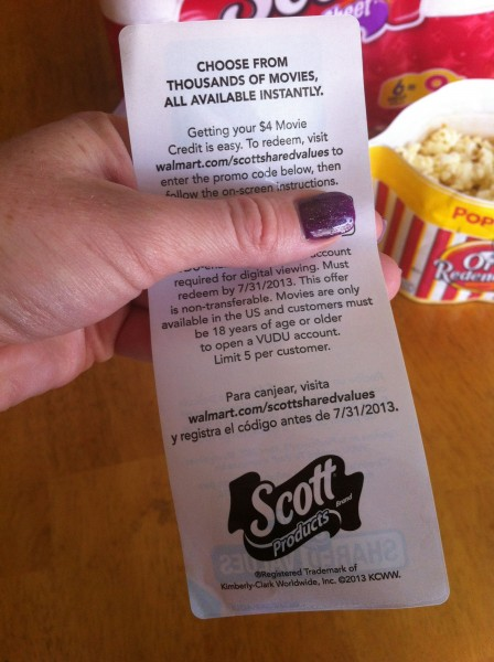 Scott Values Movie Coupon