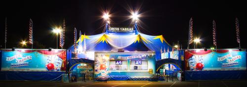 Circus Vargas tent