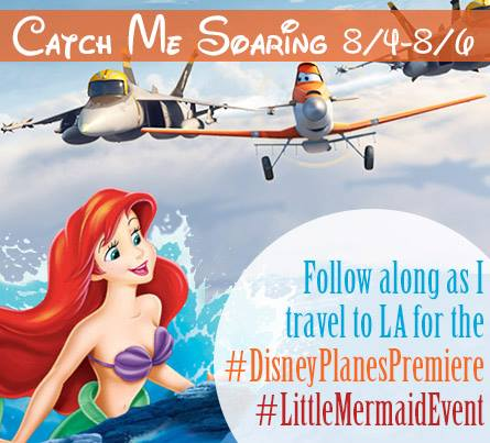 Disney Planes Premiere and Little Mermaid Event