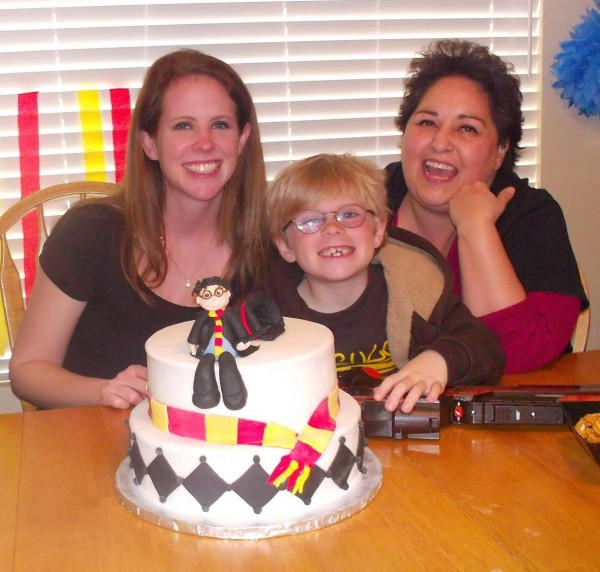 Harry Potter Fondant Birthday Cake 5