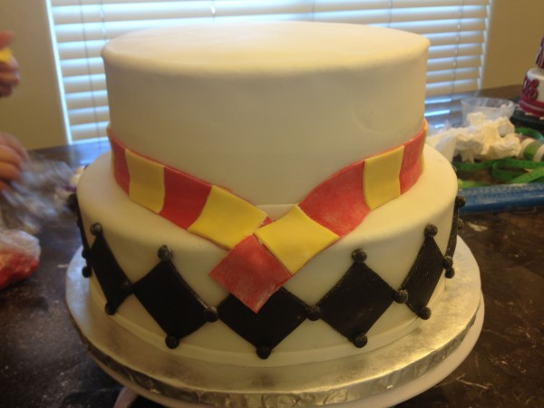 Harry Potter Fondant Birthday Cake 26