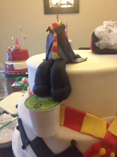 Harry Potter Fondant Birthday Cake 30