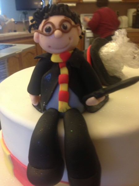 Harry Potter Fondant Birthday Cake 27
