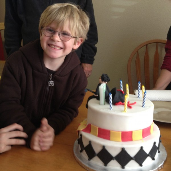 Harry Potter Fondant Birthday Cake 2