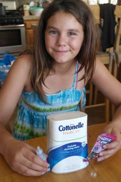 Target Cottonelle Routine 1