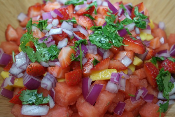 Lucky Watermelon Salsa Recipe 6