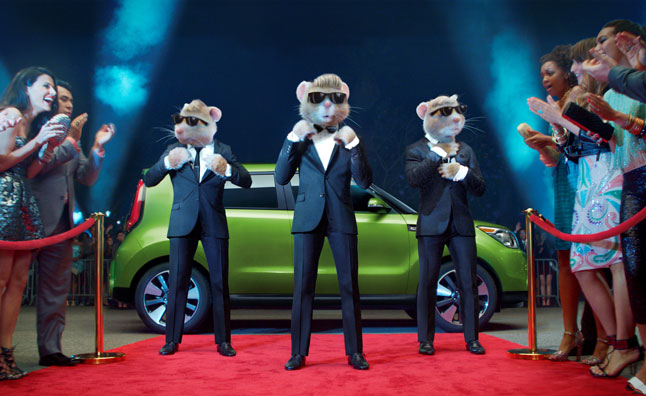 2014 Kia Soul Hamsters