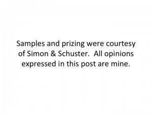 Simon & Schuster Disclosure