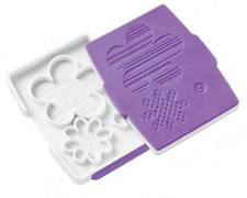 Wilton Button Flower Fondant Set