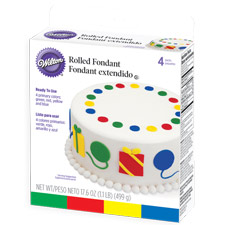 Wilton Rolled Multi Colored Fondant