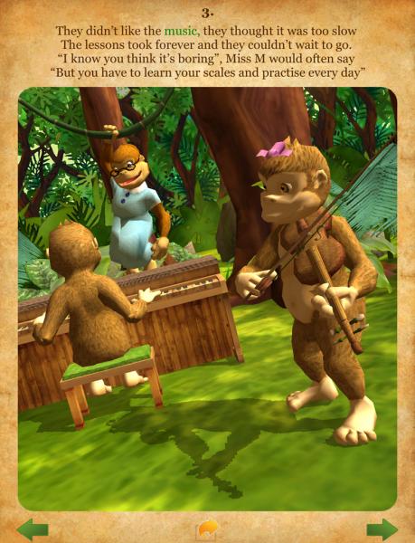 Gorilla Band Page 3