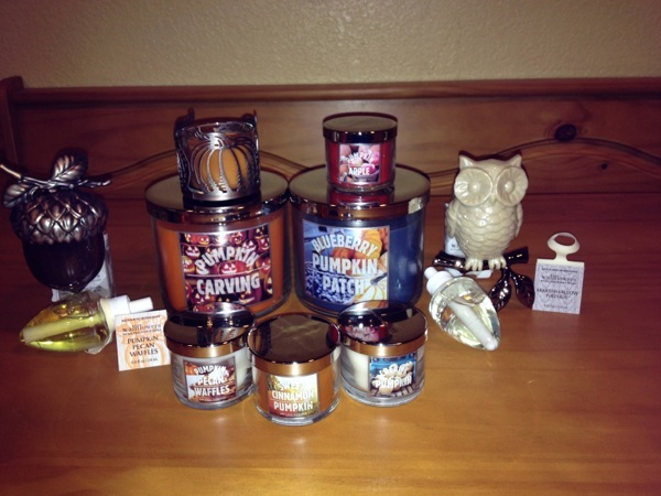 Bath & Body Works Candle Collection